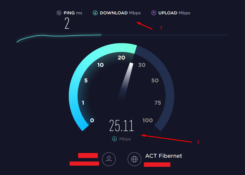 broadband internet connection speed