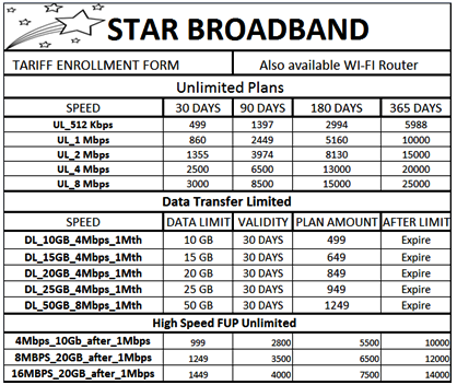 star broadband
