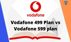 Vodafone 499 Plan