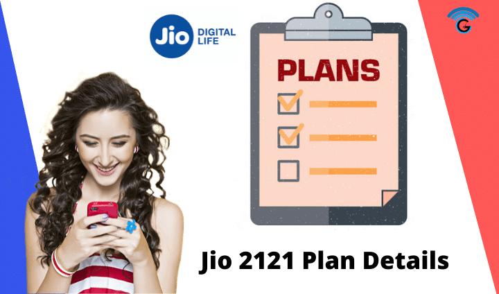 jio 2121 plan details